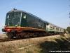 La BB 159 con il Treno Expo delle FSE nei pressi di Tuglie. (26/03/2011; foto Francesco Comaianni / tuttoTreno)