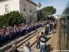 Folla in stazione a Tuglie per l'arrivo del Salento Express delle Ferrovie del Sud-Est. (26/03/2011; foto Luigi Mighali / tuttoTreno)