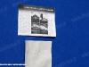 Pannelli rubati alla mostra attigua al Carro della Memoria esposto in Piazza del Plebiscito a Napoli. (24/01/2012; foto Antonio Bertagnin / tuttoTreno)