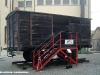 Un carro della Ferrovia Suzzara–Ferrara utilizzato per una mostra in occasione della Giornata della Memoria. (21/01/2012; foto Riccardo Bianchi / tuttoTreno)