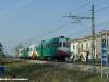 L'ALn 668 014ER e la Ln 880 035ER della FER sulla tratta della linea Ferrara-Rimini sospesa al traffico dall'11 febbraio. (Ferrara, 10/02/2010;foto Marco Bruzzo / tuttoTreno)