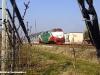 La D 220 029ER della FER in corsa prova nella stazione Città del Ragazzo, sulla linea Ferrara–Codigoro, per la verifica degli impianti di sicurezza e segnalamento. (10/02/2010; foto Marco Bruzzo / tuttoTreno)