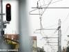 Il segnale di protezione FER di Ferrara Porta Reno lato Codigoro l'ultimo giorno di funzionamento. (Ferrara, 29/01/2011; foto Marco Bruzzo / tuttoTreno)