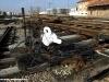 Scambi smontati nel Deposito Locomotive della ex-stazione FER di Ferrara Porta Reno diventata P.M. Bivio Rivana. (Ferrara, 10/02/2010; foto Marco Bruzzo / tuttoTreno)
