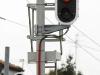 I segnali di partenza lato Codigoro nella stazione di Ferrara Porta Reno. (Ferrara, 29/01/2011; foto Marco Bruzzo / tuttoTreno)