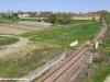 La variante realizzata tra Cona e Città del Ragazzo per collegare la fermata di Ospedale alla linea Ferrara–Codigoro che entrerà in servizio entro l'anno. (Cona, 05/04/2011; foto Marco Bruzzo / tuttoTreno)