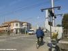 Il passaggio a livello alla pkm 2+674 della tratta chiusa al traffico tra la pkm 0+960 e la pkm 4+020 della Ferrara–Gaibanella. (Ferrara, 26/02/2011; foto Marco Bruzzo / tuttoTreno)