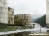 Così diventerà la radice nord-est dell'attuale stazione di Bolzano. (© Arch. Boris Podrecca / tuttoTreno)