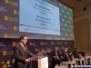 L'intervento di Vincenzo Soprano, AD di Trenitalia, al Convegno sul ruolo delle Ferrovie nel turismo europeo. (Merano, 14/04/2011; foto Marco Bruzzo / tuttoTreno)
