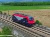 La E 190 301 FUC in località Cavalicco per le corse di certificazione effettuate tra il capoluogo friulano e Gemona del Friuli. (Udine 25/05/2011; foto Enrico Ceron / tuttoTreno)