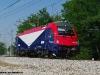 La E 190 302 FUC lungo la circovallazione ferroviaria di Udine per le corse di certificazione effettuate  tra il capoluogo friulano e Gemona del Friuli. (Udine 25/05/2011; foto Enrico Ceron / tuttoTreno)