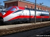 """La E 404 002 """"Romolo"""", versione Frecciarossa, in preparazione per la partenza da Foligno per Torino. (08/03/2011; foto Raffaele Zampella / tuttoTreno)"""