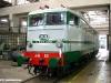 La E 646 028 alla fine dei lavori di restauro dei volontari dell'Associazione Treni Storici della Puglia. (foto ATSP / tuttoTreno)