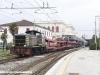 Manovra del treno EN 1135 Vienna-Livorno nella stazione toscana. (Livorno, 31/03/2012; Marco Carrara / tuttoTreno)