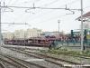 Scarico veicoli del treno EN 1145 Vienna-Livorno nella stazione toscana. (Livorno, 31/03/2012; Marco Carrara / tuttoTreno)
