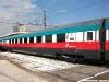 Una carrozza di 1ª classe dell'ETR 500 45 in livrea 150° Unità d'Italia. (Napoli, 10/03/2011; Marco Camerino / tuttoTreno)