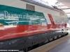 Un particolare dell'ETR 500 45 in livrea 150° Unità d'Italia a Napoli Centrale. (10/03/2011; Maurizio Pannico / TuttoTreno)