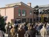 Il pubblico e le autorità durante la festa per i dieci anni della sede saviglianese del Museo Ferroviario Piemontese. (08/12/2012; foto Michele Cerutti / tuttoTreno)