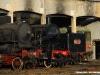 Le locomotive 625 100, 940 041 e 640 143 sulla rotonda del Deposito locomotive di Torino Smistamento. (11/12/2010; foto Michele Cerutti / tuttoTreno)
