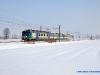un complesso di ALe 582 effettua un Regionale Piacenza-Voghera. (20/12/2009; foto Marco Stellini / TuttoTreno)