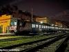 Un complesso di ALe 582 nella stazione di Porto Empedocle in occasione della Festa del Mandorlo in fiore. (13/02/2011; foto Marco Morreale / tuttoTreno)