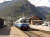 Il binato diagnostico UTMR di Trenitalia composto dall'ALe 601 064 e dalla Le 700 003 in sosta a Tirano. (19/09/2006; foto Walter Bonmartini / tuttoTreno)