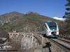 Il Minuetto Diesel 47 sulla linea del Tenda Cuneo-Ventimiglia. (Tende, 27/12/2009; foto Matteo Rovatti / tuttoTreno)