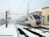 Il Minuetto Diesel 058 (ALn 501 058 + Ln 220 058 + ALn 502 058) in partenza da Santhià per Biella con il Regionale 4783. (20/12/2009; foto Massimo Rinaldi / tuttoTreno)