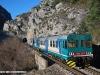 l'ALn 663 1160 in coppia con un'altra unità dello stesso gruppo, effettua il Regionale 22978 Ventimiglia-Cuneo. (Tende, 27/12/2009; foto Jacopo Raspanti / tuttoTreno)