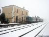 ALn 668 1221 e 1228 a Costa, sulla Rovigo-Verona. (02/01/2009; foto Riccardo Fogagnolo / tuttoTreno)