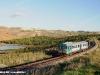 L'ALn 668 3039 effettua il Regionale 12827 Caltanissetta-Acate, qui ripreso tra la stazione di Campobello-Ravanusa e Licata. (12/11/2010; foto Roberto Meli / tuttoTreno)