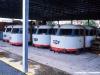 cabine originali di E 444 alle OGR di Foligno, poi tutte demolite. (Marzo 1995; foto Gianfranco Berto / tuttoTreno)