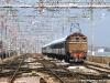 La E 626 015 in testa al Venice Simplon Orient Express con l'invio 26331 Mestre-Venezia SL in arrivo a Santa Lucia, in cosa la E 405 042 che effettuerà il treno fino al Brennero. (24/03/2010; Giancarlo De Marco / tuttoTreno)