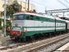La E 646 028 al suo debutto operativo come locomotiva storica alla testa del treno per i 150 anni dell'Unità d'Italia in partenza da Brindisi Centrale. (Brindisi, 21/03/2011; foto Giorgio Iannelli / tuttoTreno)