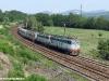 L'IC523 Torino-Salerno trainato dalla E 656 300 con una E 656 di Rimando, lungo la linea Alessandria-Genova. (Rigoroso, 25/08/2009; foto Silvio Assi / tuttoTreno)