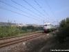 L'ETR 232 in invio a Rimini dopo aver effettuato il Milano–Pesaro. (Gradara, 22/10/2010; foto Andrea Piacentini / tuttoTreno)