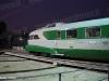 L'ETR 251 in esposizione a Pietrarsa in occasione dei 170 anni della prima ferrovia italiana. (02/10/2009; © Maurizio Pannico / tuttoTreno)