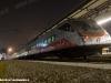 L'ETR 460 31 mentre, proveniente da Bolzano, in attesa di partire per Roma Termini. (Verona P.N., 07/02/2011; foto Marco Bruzzo / tuttoTreno)