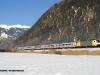 la E 186 989 alla testa del treno EC81 MunchenHbf-Bolzano. (Vipiteno, 16/01/2010; foto Alberto Tomè / tuttoTreno)