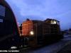 La Ld 405 nel Deposito Locomotive FUC di Udine mentre manovra la E 190 301 Taurus giunta in giornata nella città friulana. (25/01/2011; foto Davide Delfino / tuttoTreno)