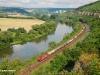 La 185 588 dell'impresa HGK sulngo la linea del Meno. (Himmelstadt, 30/07/2010; © Marco Stellini / tuttoTreno)