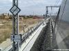 Il segnale di termine dell'ETCS livello due alla pkm 4,6 della linea AVAC Bologna-Milano. (Bologna, 02/10/2008; foto Stefano Patelli/ tuttoTreno)