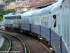 Il Treno Azzurro in partenza da Alassio durante il viaggio di ritorno da Ventimiglia a La Spezia nella giornata del suo primo viaggio. (20/06/2010; foto Massimiliano Roversi / tuttoTreno)