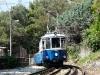 L'elettromotrice 401 mentre raggiunge Vetta Scorcola lungo la tranvia Trieste-Villa Opicina. (24/05/2008; foto Massimiliano Di Biagio / tuttoTreno)