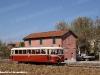 L'ALn 1204 delle Ferrovie Basso Sebino, già appartente all'ACT di Reggio Emilia, effettua un treno storico sulla Reggio Emilia-Sassuolo. (Bosco, 05/10/2008; foto Matteo Cerizza / tuttoTreno)