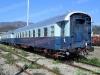 Tre delle carrozze nei colori Treno Azzurro. (09/04/10; foto Leonardi / ATSL  / tuttoTreno)