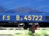 La marcatura anni '50 di una delle quattro carrozze del Treno Azzurro. (09/04/10; foto Leonardi / ATSL / tuttoTreno)