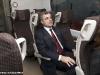 L'Ing. Mauro Moretti, qui a bordo dell'ETR 600, è stato confermato AD delle Ferrovie dello Stato. (foto Marco Bruzzo / tuttoTreno)