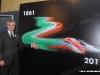 """L'AD di FS Mauro Moretti alla presentazione degli eventi delle FS e dell'offerta commerciale di Trenitalia per i 150 anni dell'Unità d'Italia, che si è tenuta oggi a Roma Termini con la presenza dell'ETR 500 45 in livrea """"Tricolore"""". (14/03/2011; © Ferrovie dello Stato / tuttoTreno)"""