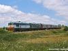 Il treno con la mostra fotografica itinerante sulle Ferrovie del Sud-Est, trainato dalla BB 153 e la 162 in seconda posizione. (Galugnano, 05/06/2010; foto Francesco Comaianni / tuttoTreno)